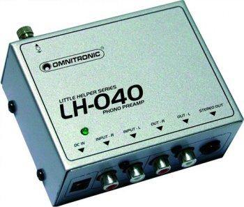 Omnitronic LH-040, gramofonní předzesilovač - 3 roky záruka, Ušetřete ihned 3% při registraci