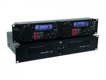 Omnitronic CMP-2000 Dual CD/MP3 přehrávač - 3 roky záruka