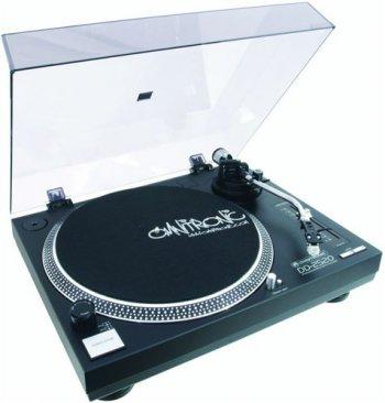 Omnitronic DD-2520, gramofon s přímým pohonem-USB černý - 3 roky záruka, Ušetřete ihned 3% při registraci