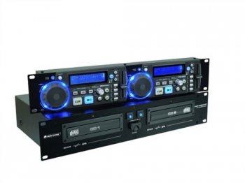 Omnitronic XMP-2800MT Dual CD/MP3 přehrávač - 3 roky záruka