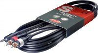 Stagg SYC3/MPS2CM E, kabel 2x RCA /MINI JACK, 3 m