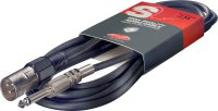 Stagg SAC1PXM DL, kabel XLR/JACK, 1m