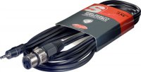 Stagg SAC3MPSXF, kabel XLR/mini JACK, 3m