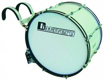 "Dimavery MB-422 pochodový basový buben, 22"" x 12"" - 3 roky záruka"