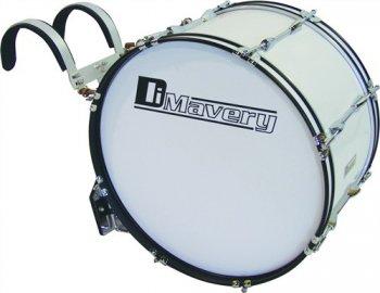 "Dimavery MB-428 pochodový basový buben, 28"" x 12"" - 3 roky záruka"
