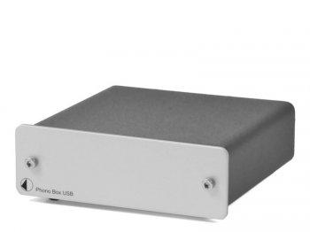Pro-Ject PHONO BOX USB stříbný - 3 roky záruka