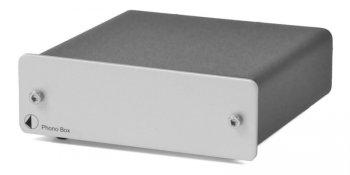 Pro-Ject PHONO BOX stříbrný - 3 roky záruka