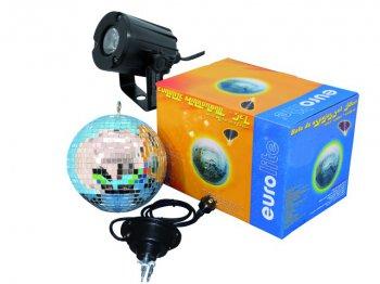 Set LED zrcadlová koule 30 cm, 6000K - 3 roky záruka, Ušetřete ihned 3% při registraci