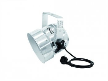 Eurolite LED PAR-56 RGB DMX, 151x 5mm LED, stříbrný - 3 roky záruka