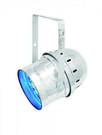 Eurolite LED PAR-64 RGB krátký, stříbrný - 3 roky záruka, Ušetřete ihned 3% při registraci