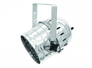 Eurolite LED PAR-64 QCL 18x8W krátký stříbrný - 3 roky záruka, Ušetřete ihned 3% při registraci
