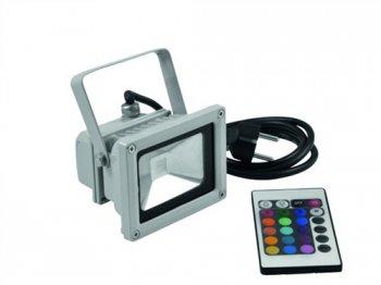 Eurolite LED IP FL-10 COB RGB 120° s dálkovým ovladačem - 3 roky záruka, Ušetřete ihned 3% při registraci