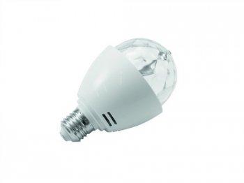 Omnilux LED Disko žárovka E27, 3x1W RGB - 3 roky záruka