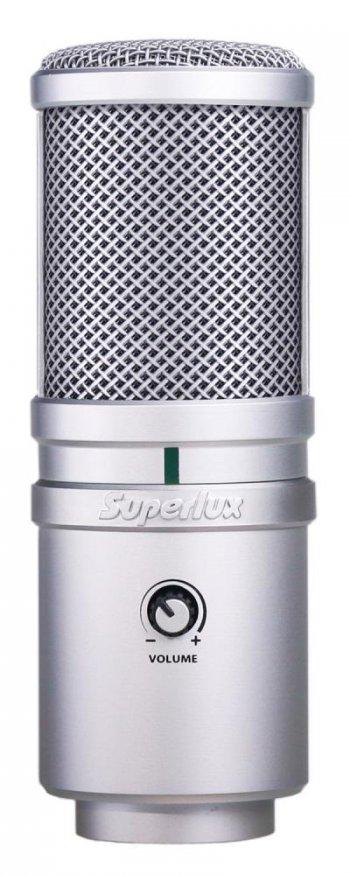 SUPERLUX E205U - 3 roky záruka, Ušetřete ihned 5% při registraci