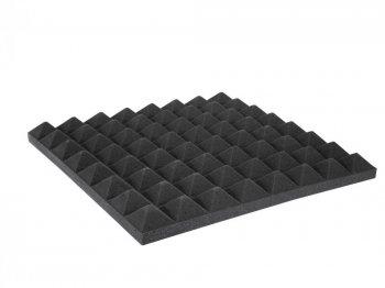 Akustická pěna, pyramidy 50 mm, 50x50 cm - 3 roky záruka