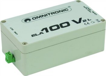 Omnitronic ELA-100V-2-L transformátor - 3 roky záruka