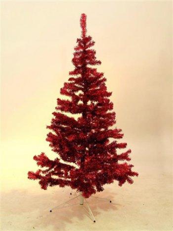 Vánoční strom, červený, 240 cm - 3 roky záruka, Ušetřete ihned 3% při registraci
