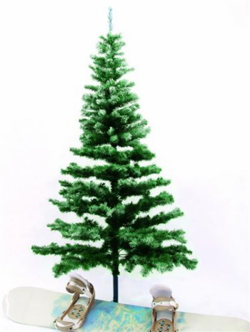 Vánoční stromek jedle, zasněžená 240 cm - 3 roky záruka