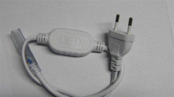Napájecí konektor pro LED světelný pásek, SMD3528, AC220V - 3 roky záruka, Ušetřete ihned 2% při registraci