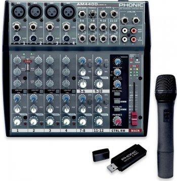 Phonic AM440D USB-K-1 - 3 roky záruka
