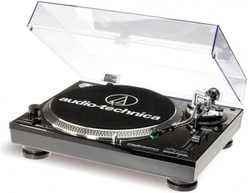 Audio Technica AT-LP120USBHC black - 3 roky záruka