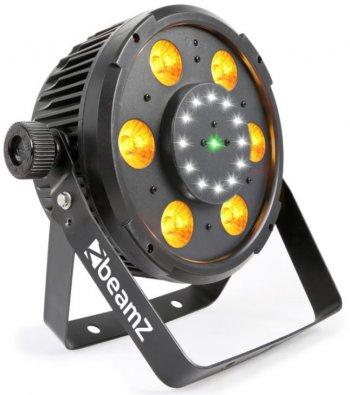BeamZ BX100 PAR, QCL LED, Strobo, Laser RG, IR, DMX - 3 roky záruka