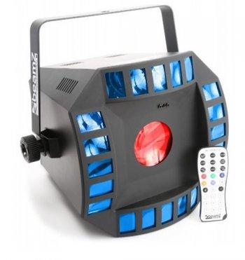 BeamZ Cube 4 II, 2x10W QCL+ 64 RGBAW LED DMX - 3 roky záruka