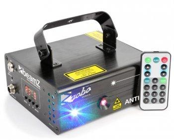 BeamZ Laser Anthe II Double 600mW RGB Gobo, DMX, DO - 3 roky záruka