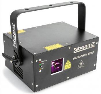 BeamZ Laser Pandora 600 TTL, 600 mW RGB, DMX, ILDA - 3 roky záruka