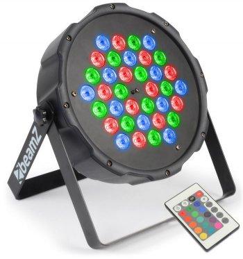 BeamZ LED FlatPAR 36x 1W RGB, IR, DMX - 3 roky záruka