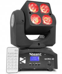 Beamz LED Matrix 22, 4x 10W QCL CREE, IR, DMX