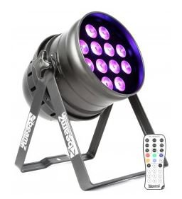 BeamZ LED PAR-64 12x 18W RGBAW-UV, IR, DMX - 3 roky záruka