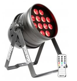 BeamZ LED PAR-64 QCL 12x 12W IR, DMX - 3 roky záruka