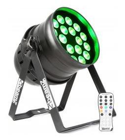 BeamZ LED PAR-64 QCL 18x 12W IR, DMX - 3 roky záruka, Ušetřete ihned 3% při registraci
