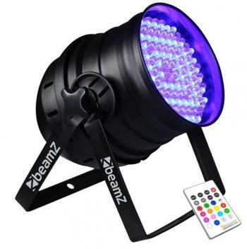 BeamZ LED PAR-64 RGB 176x 10mm IR, DMX - 3 roky záruka, Ušetřete ihned 3% při registraci
