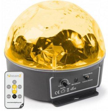 BeamZ mini Half Ball 6x 3W RGBAW LED s IR, světelný efekt - 3 roky záruka