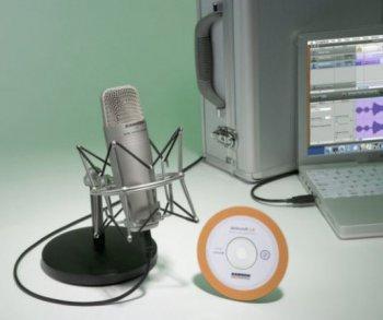 Samson C01U studiový balíček - kondenzátorový mikrofon USB - 3 roky záruka