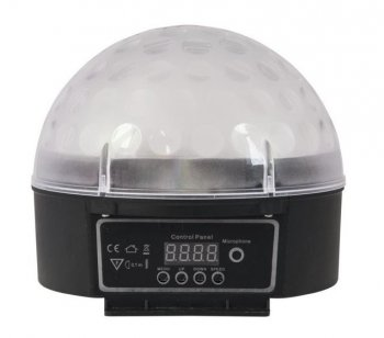 Eurolite LED Half Ball 6x 1W DMX, IR