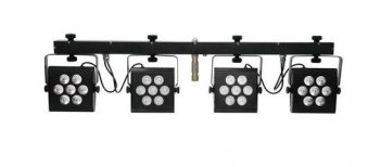 Eurolite LED KLS-2500, 28x 10W PCL DMX, světelná rampa RGBAW - 3 roky záruka, Ušetřete ihned 3% při registraci