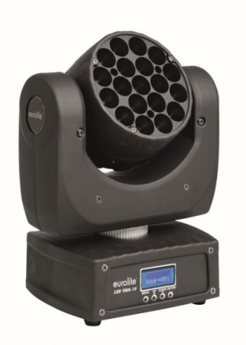 Eurolite LED TMH-19, 19x3W RGBW LED, DMX - 3 roky záruka