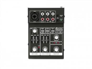 Omnitronic MRS-502USB mixážní pult - 3 roky záruka, Ušetřete ihned 3% při registraci