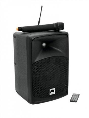 Omnitronic W.A.M.4S-08, bezdrátový PA systém UHF - 3 roky záruka