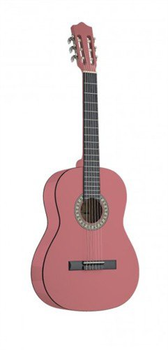 Stagg C530 PK, klasická kytara 3/4, růžová - 3 roky záruka, Ušetřete ihned 3% při registraci