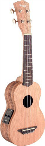 Stagg USX-ZEB-SE, sopránové ukulele - 3 roky záruka