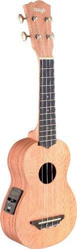 Stagg USX-ROS-SE, sopránové ukulele - 3 roky záruka