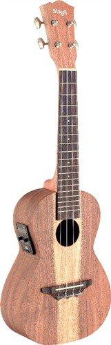 Stagg UCX-ACA-SE, koncertní elektroakustické ukulele - 3 roky záruka