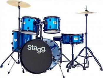 Stagg TIM120B BL, bicí sada, modrá - 3 roky záruka, Ušetřete ihned 3% při registraci