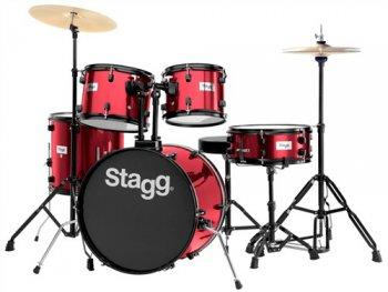 Stagg TIM120B WR, bicí sada, vínová - 3 roky záruka, Ušetřete ihned 3% při registraci
