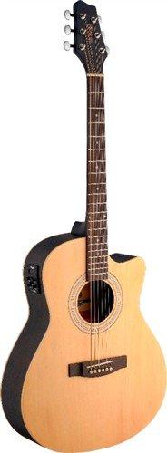 Stagg SA30ACE-N, elektroakustická kytara - 3 roky záruka