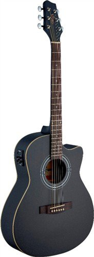 Stagg SA30ACE-BK, elektroakustická kytara - 3 roky záruka